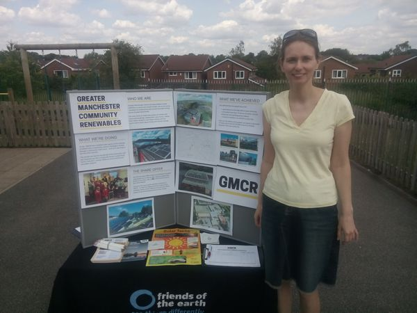 =at Monton Green Primary School summer fair